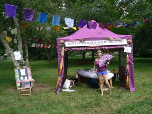 Bath Massage Clinic at Womad World of Wellbeing